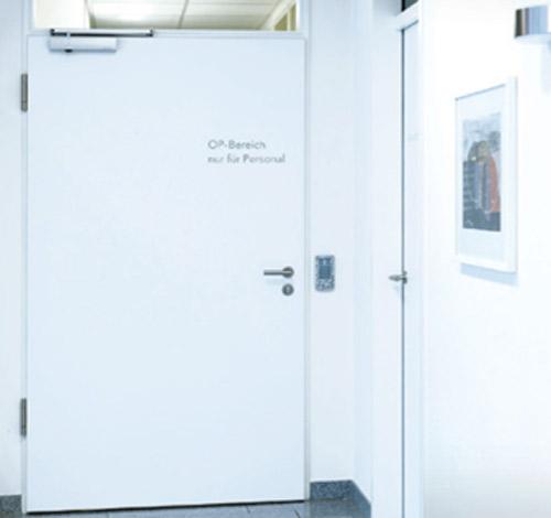 Mit dem Zutrittskontrollsystem für Sicherheit sorgen