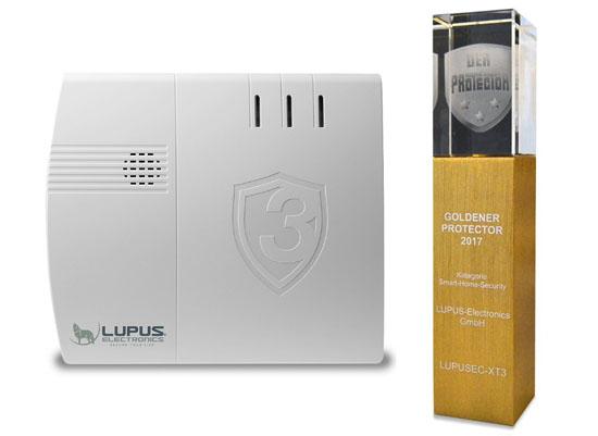 Das brandneue Lupus-XT3-Alarm- und Smarthomesystem